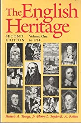 The English Heritage: To 1714 v.1: To 1714 Vol 1