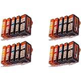 10 START Compatible Cartridges replace No. PGI-525 / CLI-526