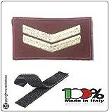 Grado New Pettorale a Velcro Ricamato a Macchina Fondo Amaranto Vigili del Fuoco Esperto Art.VVFF-G4