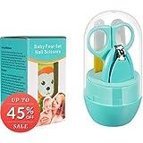 Aaryav baby Nail cutter kit Blue - (Green, Pink)