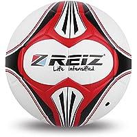 DFG-ES Término de búsqueda: REIZ Premium Leather Football Bola de patrón Decorativo REIZ Oficial tamaño 4 Cuero fútbol Color a Juego