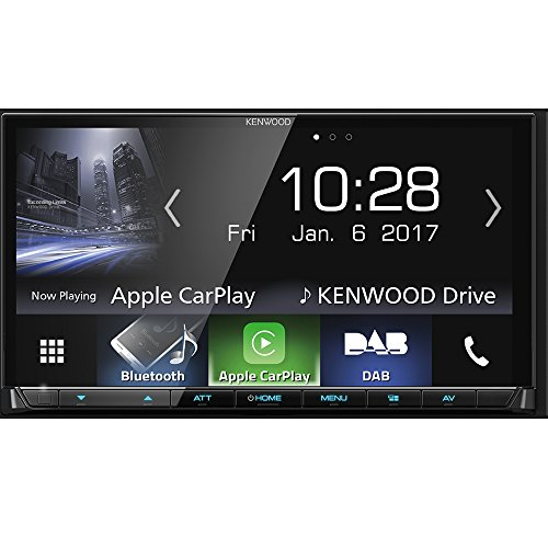 Kenwood Bluetooth (Kenwood DMX7017DABS AV-Receiver mit Bluetooth, Schwarz)