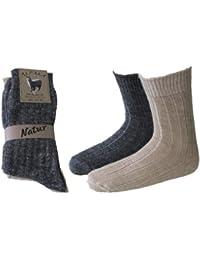 8 Paar Herren Alpaka Socken Norweger Socken 100% Natur