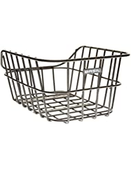 Basil - Albahaca cesta de la bicicleta, color negro