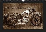 Motorrad Oldtimer (Wandkalender 2019 DIN A4 quer): Motorrad - Oldtimer (Monatskalender, 14 Seiten ) (CALVENDO Mobilitaet)