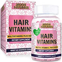 Hair Growth Strengthen Vitamins Sugar Gummy Berries Optimal Solutions Hair, Skin, Nails Flavor 2 Month Supply