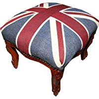 Comparador de precios Casa-Padrino Jack/Madera Unión estrado barroco - heces bandera Inglés antiguo estilo de Inglaterra - precios baratos