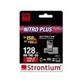 Strontium Nitro Plus 128GB Type-C USB 3.1 Flash Drive