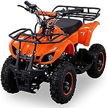 NEU Kinder Miniquad TORINO 49 CC MOTOR 2 Takt ATV Pocket Quad Kinderquad Kinderfahrzeug orange