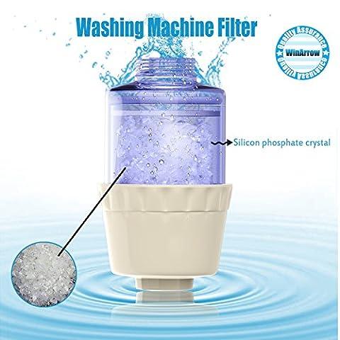 Winarrow machine à laver filtres Economic type Dissolvant Rouille purificateur d'eau remplaçable Silicon phosphore Cristal laser, transparent,