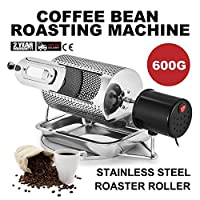 BuoQua 40W Stainless Steel Coffee Roaster Machine Tool Home Kitchen Appliance 220V Coffee Bean Roaster Roller Baker