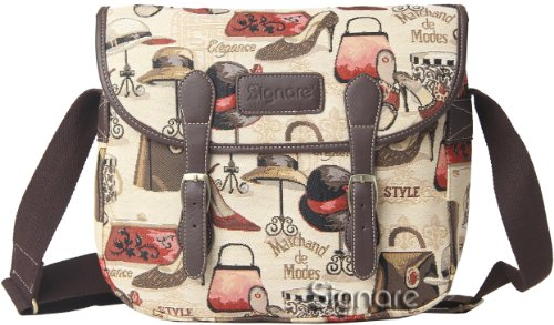 Tapisserie Sac bandoulière Boutique conception de motif de Signare New