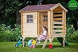 Kinderspielhaus High Park inkl. Rutsche - 175 x 130 cm