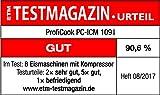 Profi Cook PC-ICM 1091 Eismaschine (3 in 1 für Speiseeis, Frozen Joghurt und Sorbet, Kompressor-Kühlung, LCD-Display, für bis zu 1,5 l Speiseeis) edelstahl Vergleich