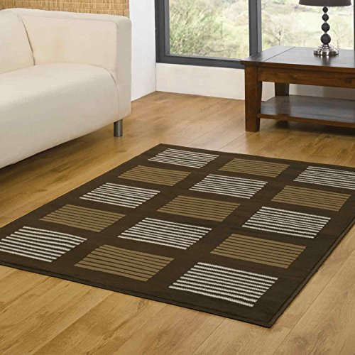 Element Brown / Multi Contemporary Rug Rug Size: 250cm x 180cm (8 ft 2.5 in x 5 ft 11 in)
