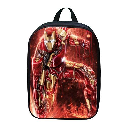 BACKPACK Kinderrucksäcke Avengers Iron Man Kindergarten Schultasche 2-5 Jahre Baby Tasche Kleiner Rucksack 1