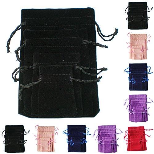 tts-20pcs-7x9cm-velvet-pouches-bags-drawstring-jewelry-gift-packaging-black