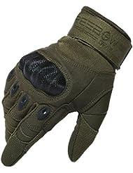 Reebow Gear Herren voll Finger Handschuhe Army Racing Gloves Fahrradhandschuhe