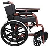 [Sponsored]Khl Wheelchair With Mag Wheels-Red Brown