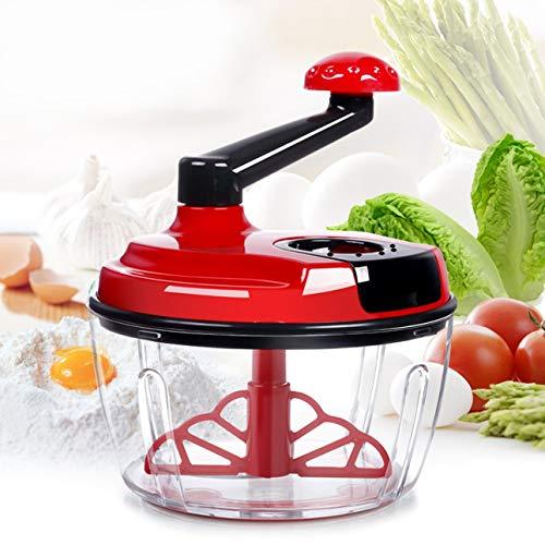 Ballylelly- Multifunktionale Handbetriebene Fleischwolf Inländische Gemüsehobel Küche Werkzeug Edelstahl Grinder Food Cutter - Edelstahl Food Grinder