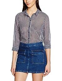 VERO MODA Damen Bluse Vmmary L/S Shirt Nfs