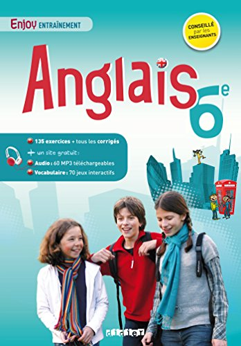 Anglais 6e - Enjoy entranement - Cahier + mp3