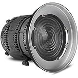 Aputure Fresnel monteur avec lumière lentille réglable pour Aputure lumière tempête s/n 120 t 120D et autres lumières de monture Bowens - 12 à 42° Angle de faisceau 14000lux@0.5M à 67000lux@0.5M
