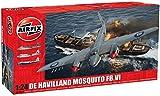 Airfix - Kit de modelismo, avión De Havilland Mosquito FBVI 1:24 (Hornby A25001A)
