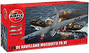 Airfix - Ai25001a - De Havilland Mosquito Fb.vi - 617 Pièces - Échelle 1/24