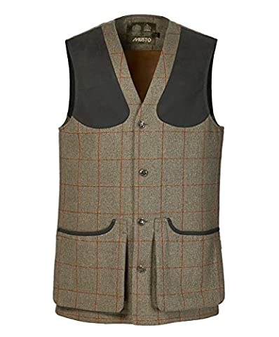 Musto Stretch Technical Tweed Mens Waistcoat Carrick