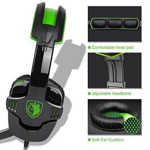 Sades sa9303,5mm Wired Noise Cancelling Gaming Kopfhörer mit Mikrofon -