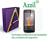 Azzil Nokia 1 Tempered Glass, Premium Real 2.5D 9H Hardness HD Tempered Glass for Screen Protection