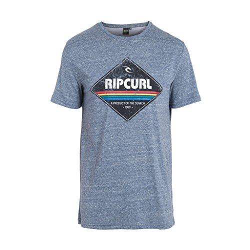 Rip Curl Diamond-Maglietta da uomo, colore: blu scuro Mood Indigo Mar