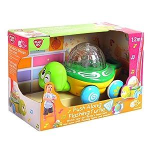 PlayGo 2850-HOTcraze-DE Tortuga para Deslizar, Funciona con Pilas