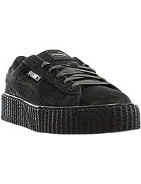 puma sneaker schwarz samt