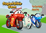 Superbike Sam is very excited to hear that the Cam Valley Grand Prix is in town. Sam and Superbike Suzi want to win the race more than anything in the whole world but unfortunately the race doesn't go according to plan when poor Tooti Scooti encounte...