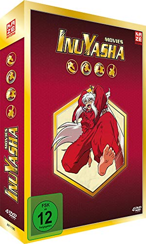 InuYasha - Movie Box [4 DVDs]