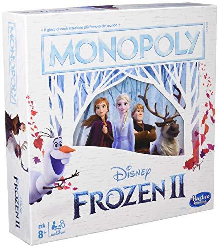 Monopoly - E5066103 - Jeu de Société - La Reine des Neiges - Multicolore