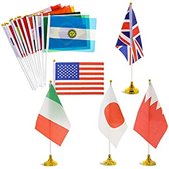 National String Flags Bunting with 100 Different Countries for Party Decoretions jijAcraft 25 M International Flags Banner 14 CM World Flags 21