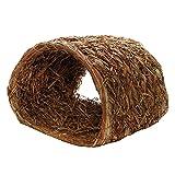 Sharplace Gras Bett Matte Tunnel für Kaninchen Meerschweinchen Chinchilla