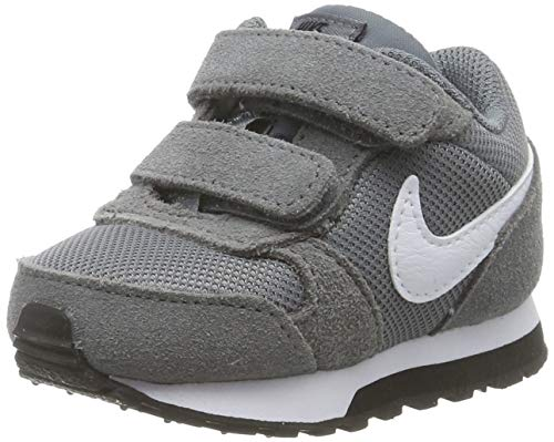 Nike MD Runner 2 TDV, Zapatillas para Bebés, Gris Cool Grey/White/Black 002, 22 EU