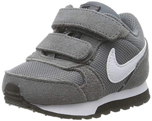 Nike Baby Jungen MD Runner 2 (TDV) Sneaker, Grau (Cool Grey/White-Black 002), 22 EU