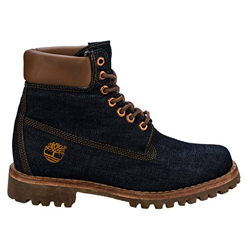 Timberland Heritage 6 In Fabric B3r, Bottes et Bottines Classiques Mixte Adulte Jeans