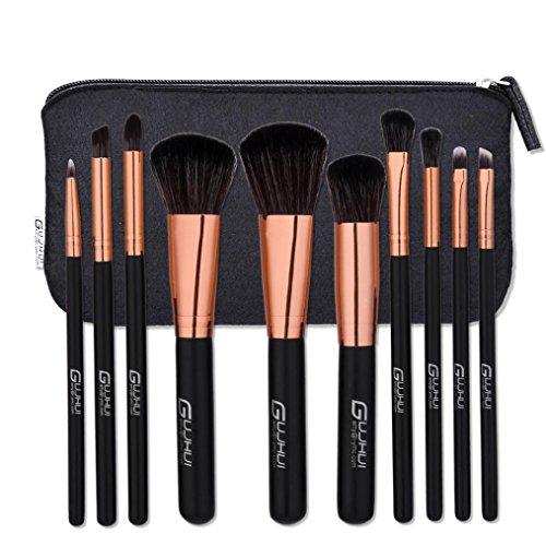 Pinceau De Maquillage, Xjp Nouveau 10PCS Foundation Eyebrow Eyeliner Blush Cosmetic Correcteur Brushes
