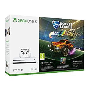 Xbox One S 1TB Konsole – Rocket League Bundle