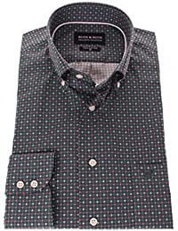 178606 - Bots & Bots - Chemise Homme - Coton - Micro Print - Button Down - Normal Fit