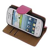 95cfe84dfa4 foto-kontor Funda para Samsung Galaxy Young 2 Estilo Libro Rosa Protectora