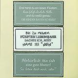 Metall Schild Kinder Erziehung Spruch 40x20cm Wandtafel Blechschild Witzig Text Geschenk (Natürlich bin ich eine gute Mutter)