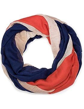 styleBREAKER fular de tubo con la bandera francesa en diseño vintage, chal, pañuelo, unisex 01016116