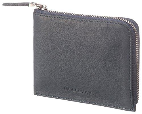 Moleskine Lineage Brieftasche Leder, Klein Kreditkartenhülle, Blau Avio (Brieftasche Moleskine)